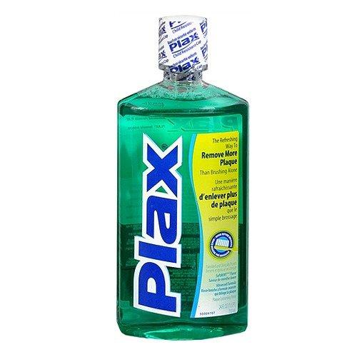 (Plax Plaque Loosening Rinse, Soft Mint 24 fl oz (2 Pack) )