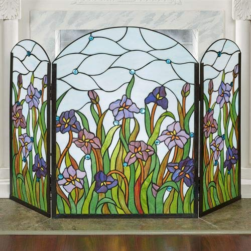 Touch of Class Spring Dreams Decorative Fireplace Screen Multi Bright