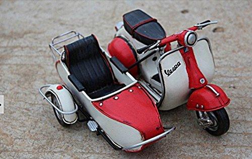 antique-retro-metal-vespa-scooter-three-motorcycle-model-home-decor