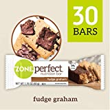 ZonePerfect Nutrition Bars, Fudge Graham, 1.76 oz, 30 Count