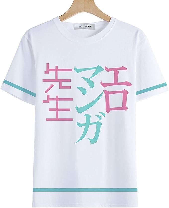 Tokyo-H Eromanga Sensei T-Shirt Japanese Anime Costume Sagiri Izumi