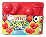 Jell-O Jigglers Sports Mold with Soccer Football Basketball Baseball by Jell-O
