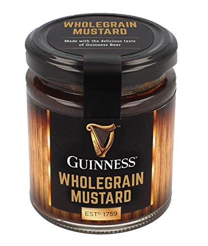 (Guinness Wholegrain Mustard with the Delicious Taste of Guinness Beer, 190G )