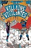 #1: Villains & Vigilantes #4 VF/NM ; Eclipse comic book
