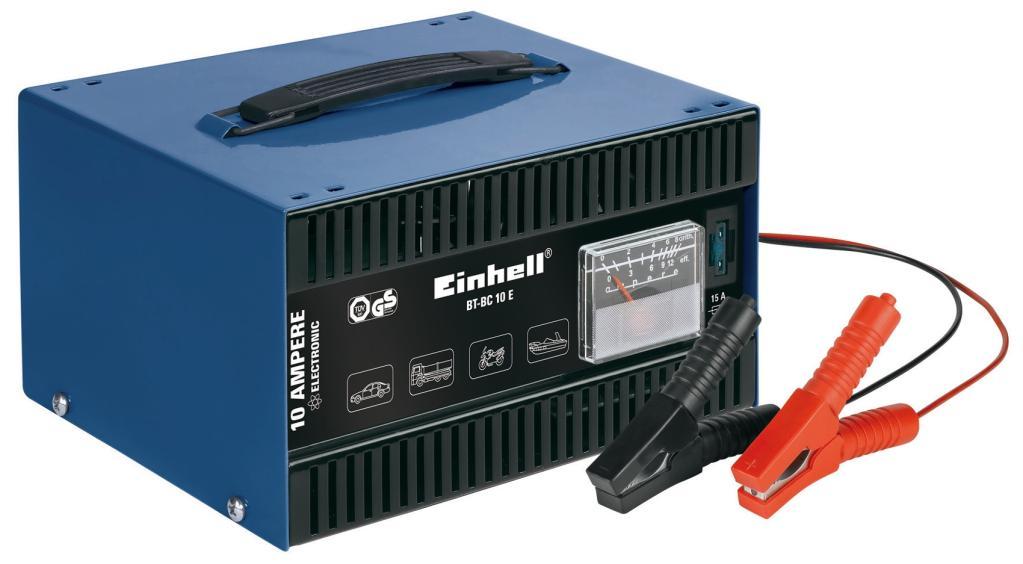 Einhell Kfz Batterieladegerät BT-BC 10 E (für Bleiakkus