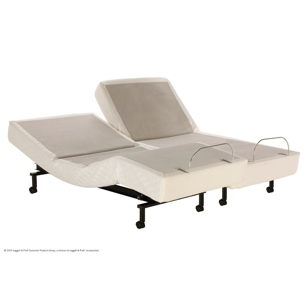 S-cape Adjustable Bed with Massage, Split King Set