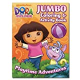 Dora the Explorer 96 Page Coloring and Activity Book ~ Playtime Adventures