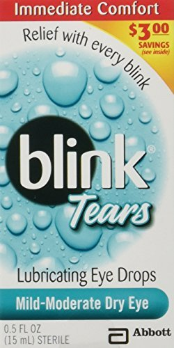 Blink Tears Lubricating Mild-Moderate Dry Eye Drops, 0.5 Fluid Ounce by AMO - Amo Stores Mall Del