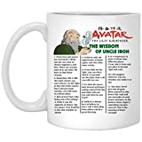 Avatar the last airbender the wisdom of uncle iroh Mug 11oz