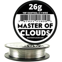 100 ft - 26 Gauge Kanthal A1 Resistance Wire AWG 100' Lengths