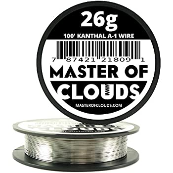 100 ft 28 gauge kanthal a1 resistance wire awg 100 lengths 100 ft 26 gauge kanthal a1 resistance wire awg 100 lengths greentooth Gallery