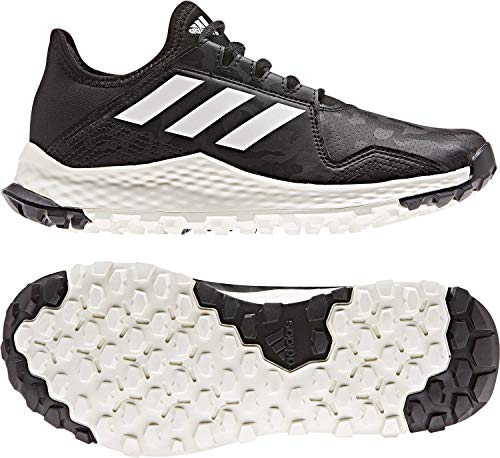 adidas Youngstar Junior Field Hockey Shoes Black/White