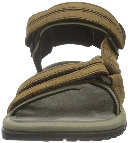 Sport Lite Femme Brn Terra Marron De Sandales brown Fi Leather W's Teva 80EaPq