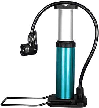 Bomba para Bicicleta Mini con Pedal Bomba de Aire Manual Portátil 120 PSI con Manómetro Inflador Bicicleta Ultraligera Válvula Presta Válvula EEUU Ideal para Carretera, Montaña, BMX, Cyclocross: Amazon.es: Deportes y aire