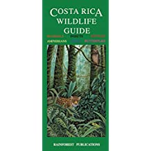 Costa Rica Wildlife Guide (Laminated Foldout Pocket Field Guide) (English and Spanish Edition