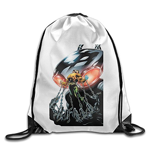 [Bekey Black Manta Strong Gym Drawstring Backpack Bags For Men & Women For Home Travel Storage Use Gym Traveling Shopping Sport Yoga] (John Paul Jones Costumes)
