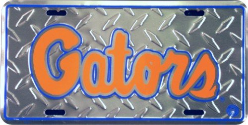 Florida Gators License Plate Tin Sign 6 x 12in