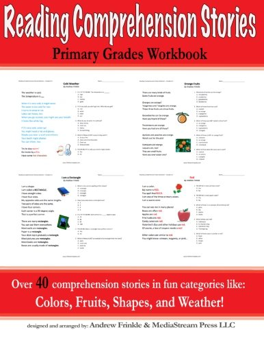 Reading Comprehension Stories: Primary Grades Workbook (Literacy ...