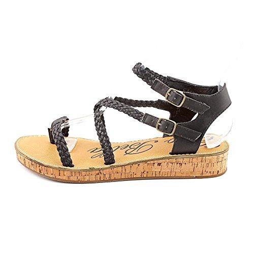 Sandalo Cinha Cinturino Alla Caviglia San Ciao Bella Nero Brunito