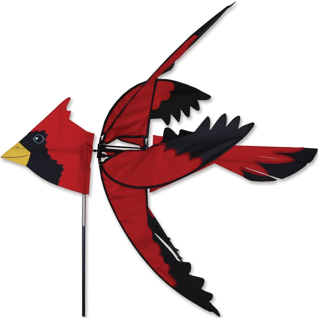 Premier Kites 37 in. North American Cardinal Spinner