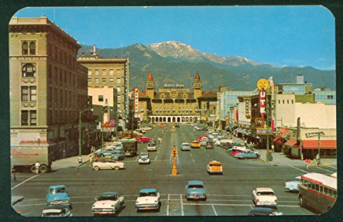 Pikes Peak Avenue Colorado Springs Antlers Hotel CO Street View ()