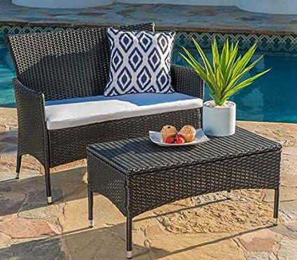 Amazon.com: Luca Outdoor- Muebles de salón - Muebles de ...