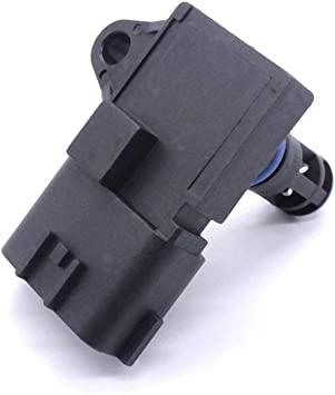 MAP Manifold Air Pressure Sensor Fit for Smart FORTWO II Fit for Cabrio Coupe 1.0 2007 A4518206910 1865A049 5WK9698