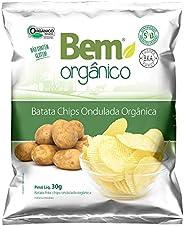 Batata Chips Ondulada Bem Orgânico 30g