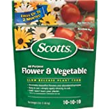 Scotts All Purpose Flower and Vegetable Continuous Release Plant Food, 3-Pound
