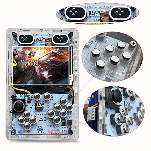 KINHANK 3.5 inch HDMI output Handheld game player, Raspberry Pi 3 B+ Game console With Retropie or Recalbox system, support over 50 emulators and 50,000 games by KINHANK (Image #4)