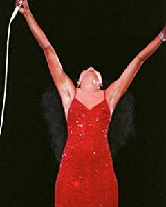 Diana Ross - Art Poster Print (20 x 24 Inches - 51cm x 61cm) 1984 Concert (Photographer: Robert Cavallo)