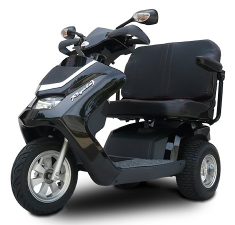 Mobility Scooter ROYALE 3 CARGO 1300 Watt Three-Wheeled Trike Mobility Scooter - Motor / Transaxle 1300W / 4100RPM / 1.7HP - Rear Wheel Drive / Brush Motor by Saferwholesale