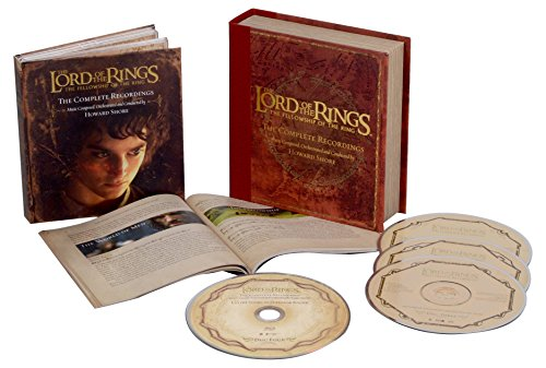 Price comparison product image The Lord Of The Rings: The Fellowship Of The Ring - The Complete Recordings (3CD/1Blu-Ray)