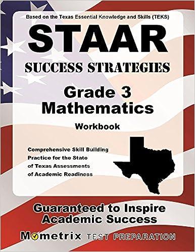 STAAR Success Strategies Grade 3 Mathematics Workbook Study