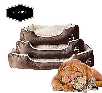 Tamia-Living Perro Gato Cama para Perros Perros Almohada Mascotas Perros Techo Disponible también Funda abnehmenbar: Amazon.es: Productos para mascotas