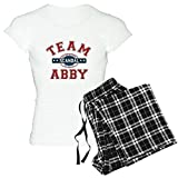CafePress Scandal Team Abby Women's Light Pajamas Womens Novelty Cotton Pajama Set, Comfortable PJ Sleepwear
