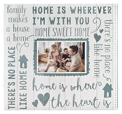 MCS MBI 13.5x12.5 Inch Home Sweet Home Scrapbook Album with 12x12 Inch Pages with Photo Opening (Baby Boy 12x12 Album)