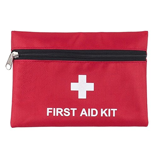 Mini First Aid Kit: Compact for Emergency at Home, Outdoors, Car, Camping, Workplace, Hiking & Survival by KINGSEVEN