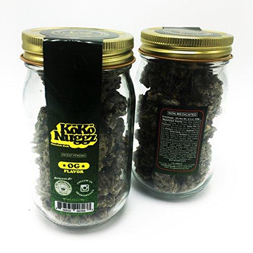 Koko Nuggz OG Flavor Chocolate Non Medicated Big JAR (15 oz) (OG Flavor) (Cbd Flower)