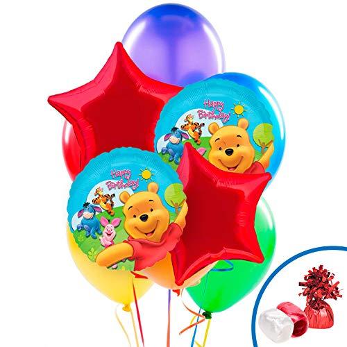 BirthdayExpress Winnie The Pooh & Friends Balloon Bouquet ()