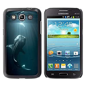 Be Good Phone Accessory // Dura Cáscara cubierta Protectora Caso Carcasa Funda de Protección para Samsung Galaxy Win I8550 I8552 Grand Quattro // fishing ocean fish blue nature dive
