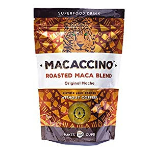 Macaccino: Original Mocha - Premium Roasted Maca Blend: Classic Style Superfood Coffee Alternative from SOL Natural Foods
