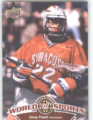 2010 Upper Deck Player - 2010 Upper Deck World of Sports #294 Casey Powell/Lacrosse/Orangemen /
