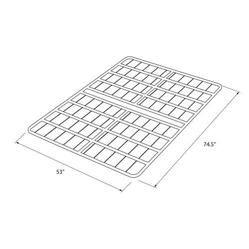 Amazon.com: Signature Sleep Ultra Steel Bunkie Board, Full: Kitchen u0026 Dining