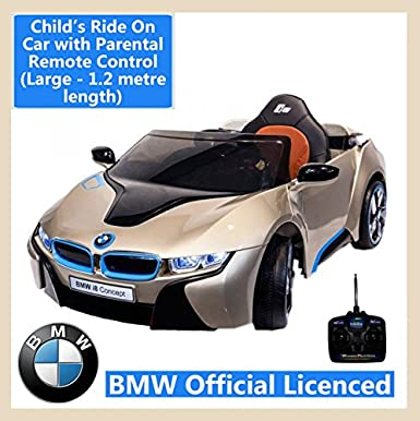 Kids Ride On Bmw I8 Car With Parental Remote Control Impressive
