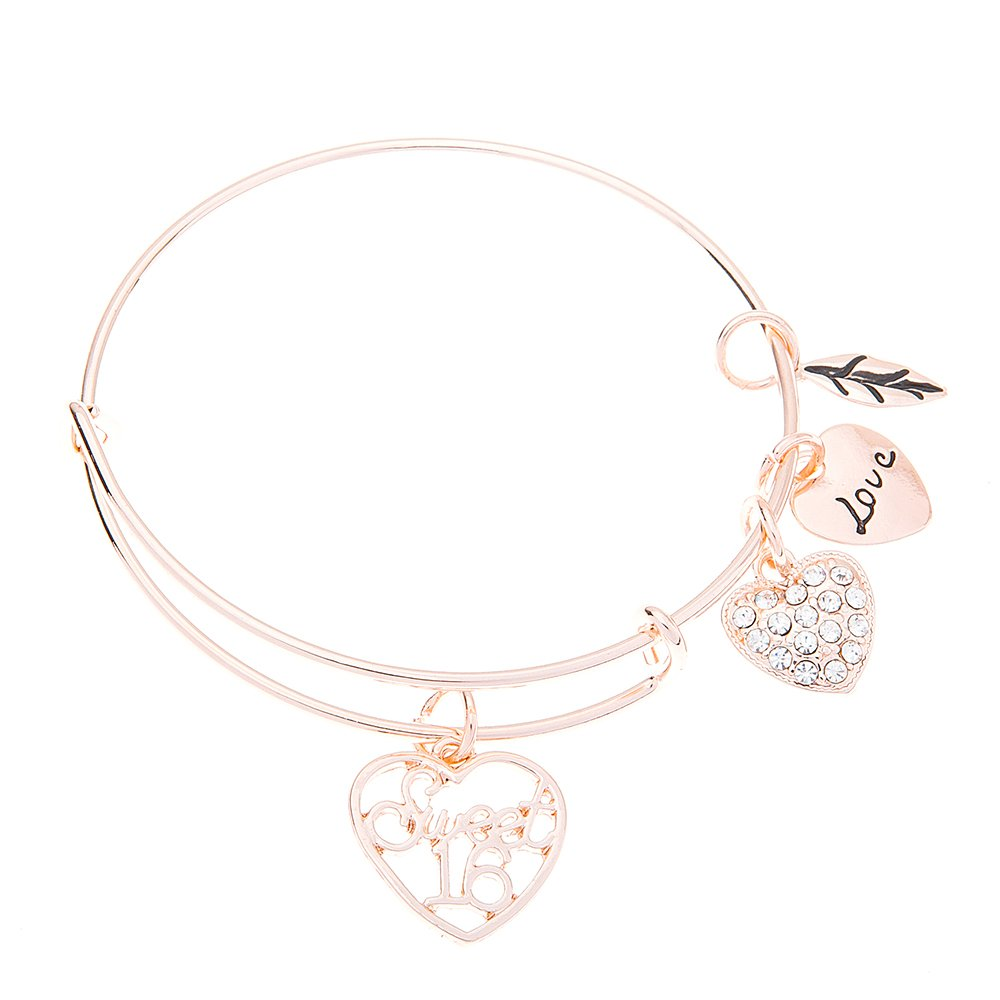 Infinity Collection Sweet 16 Bracelet- Sweet 16 Jewelry - Sweet Sixteen Gift- Sweet Sixteen Birthday Gift for Girls