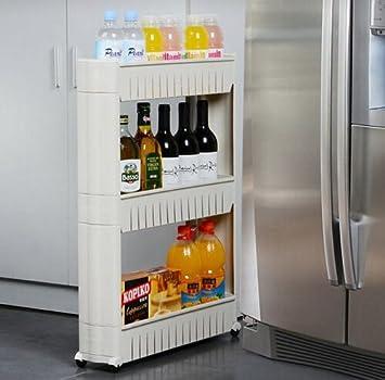 3 NIVEAU Von Rolling Ziehen Out Aufbewahrungsschrank Küche Badezimmer Oder  Wäscheservice Rack Organizer Mit Rad