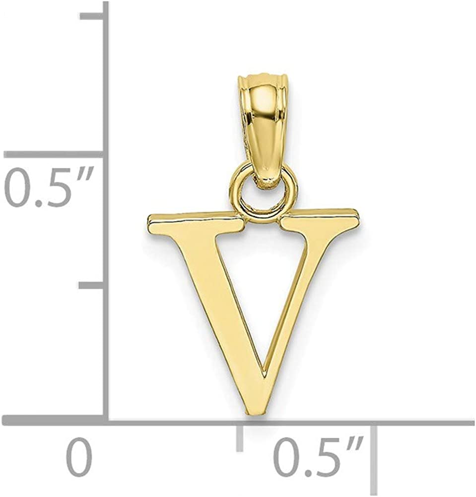 FB Jewels 14K Yellow Gold Oval 4-Prong Cast Heavy Weight 4 x 3mm Pendant Setting
