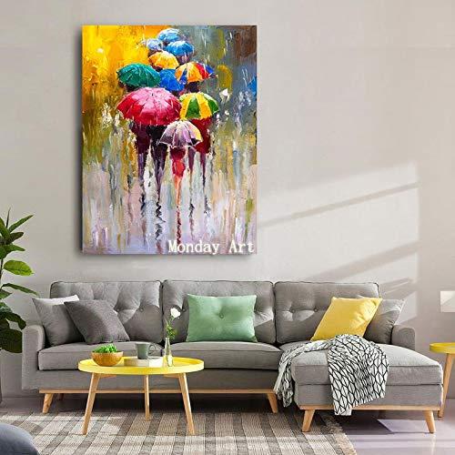 KKCV Cuadro en acrilico Picasso Famoso mas Vendido Moderno Puro Pintado a Mano Lienzo Pintura Cuadros de Pared para la decoracion del hogar Pintura al oleo Figura Trabajo 90x12