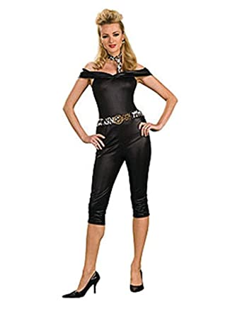 c00a52a82eaf Amazon.com: Adult's Small 6-10 Sexy 50s Grease Rebel Chick Costume: Clothing